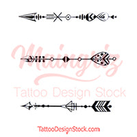3 Arrow - Temporary tattoos by maingriz