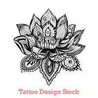 lotus mandala tattoo design high resolution download