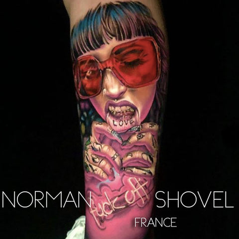 Norman Shovel from France is one of the first Tattoospot ambassadors