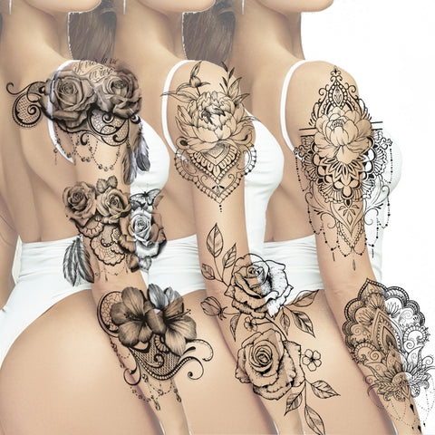 amzing sexy tattoo sleeve ideas