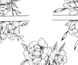 5 x sexy Peony forearm design download high resolution download