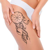 5 Dreamcatchers temporary tattoos