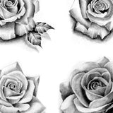 20 amazing realistic roses tattoo design high resolution download