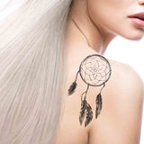 Dreamcatcher realistic sexy temporary tattoo