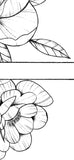 Peony linework forearm  - tattoo design download