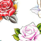 5 originals roses custom tattoo design