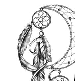 Realistic dreamcatcher tattoo desgin high resolution download