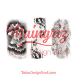 clouds effect sleeve tattoo design high resolution download