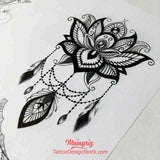 sexy sleeve tattoo design for woman