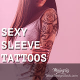 create your sexy sleeve tattoo design