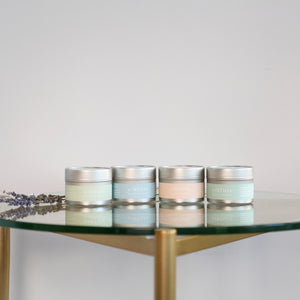Intui Travel Collection of Natural Candles with Essential Oils