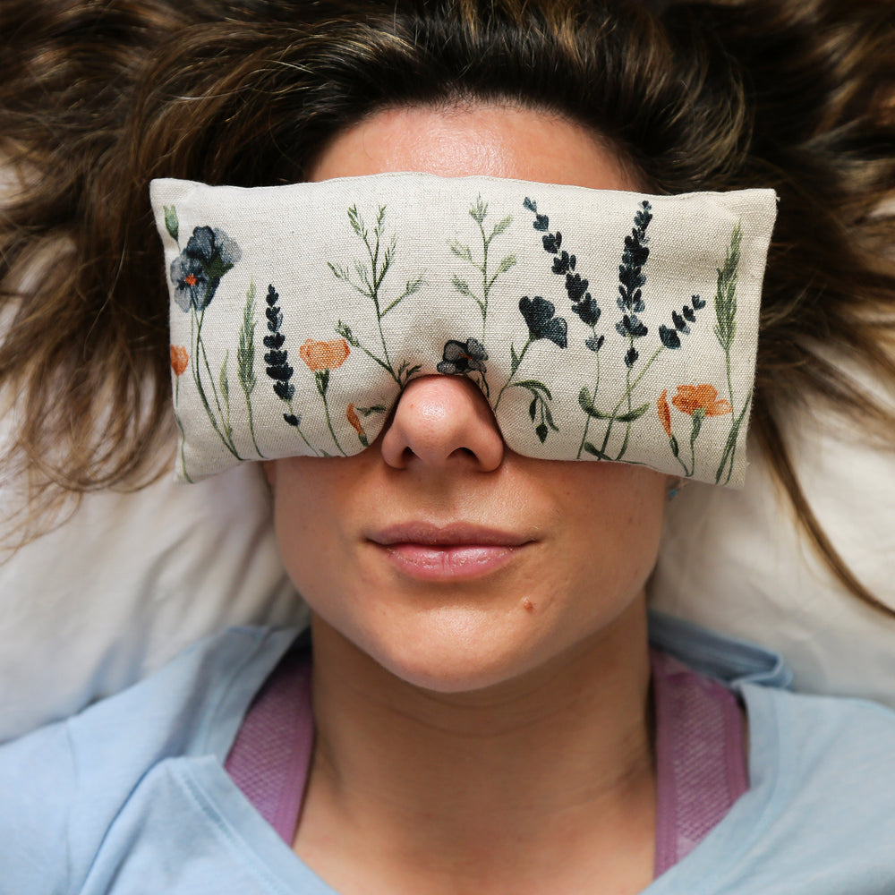 Intui Bliss Eye Pillow, Wild, For Stress Relief and Restoring a Sense of Balance