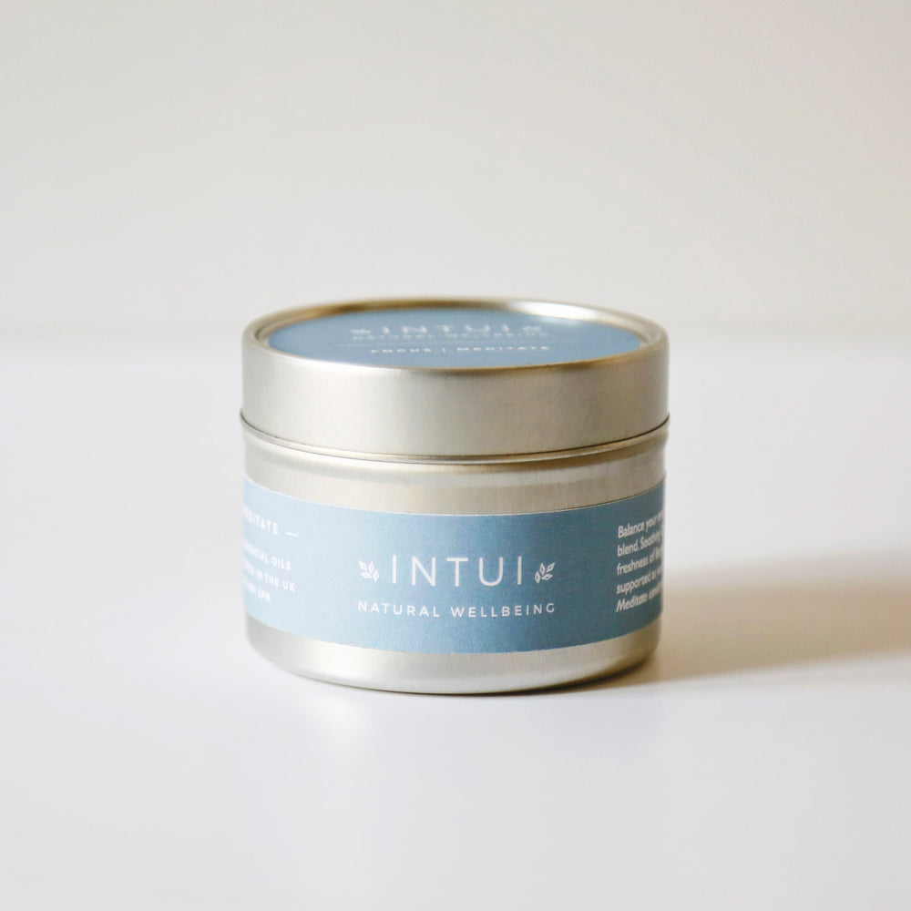 Focus and Meditate Natural Candle 10cl