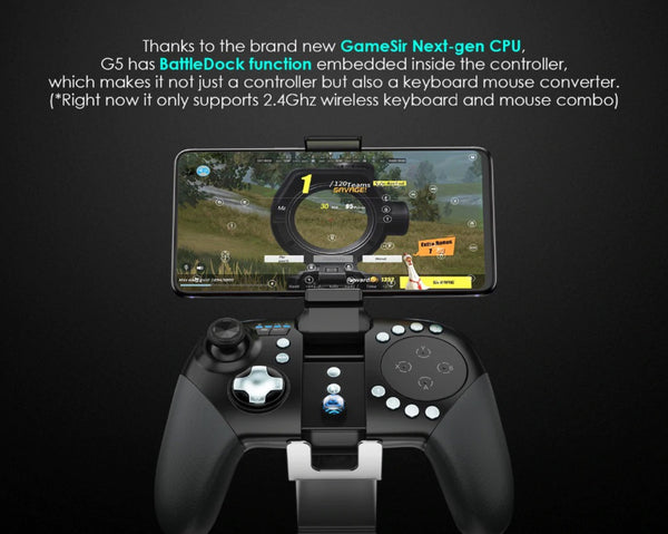 Gamesir G5 - Nextgen CPU