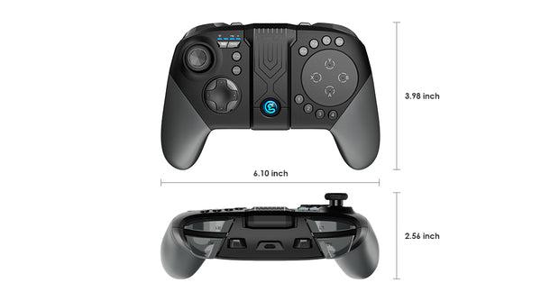 Gamesir G5 - Mobile gamepad with trackpad size