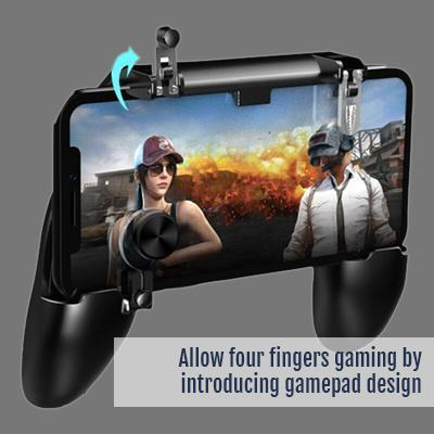MOBIG 1I1 - Simple gamepad (PUBG, Fortnite, Free Fire, Cyber Hunter...)