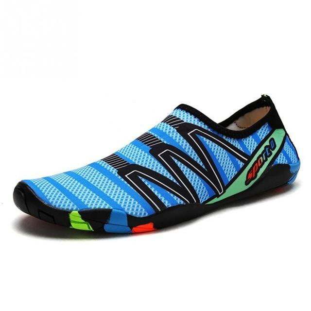 Unisex Water Swim and Walk Shoes For Beach, Lake and Camping - Colorful