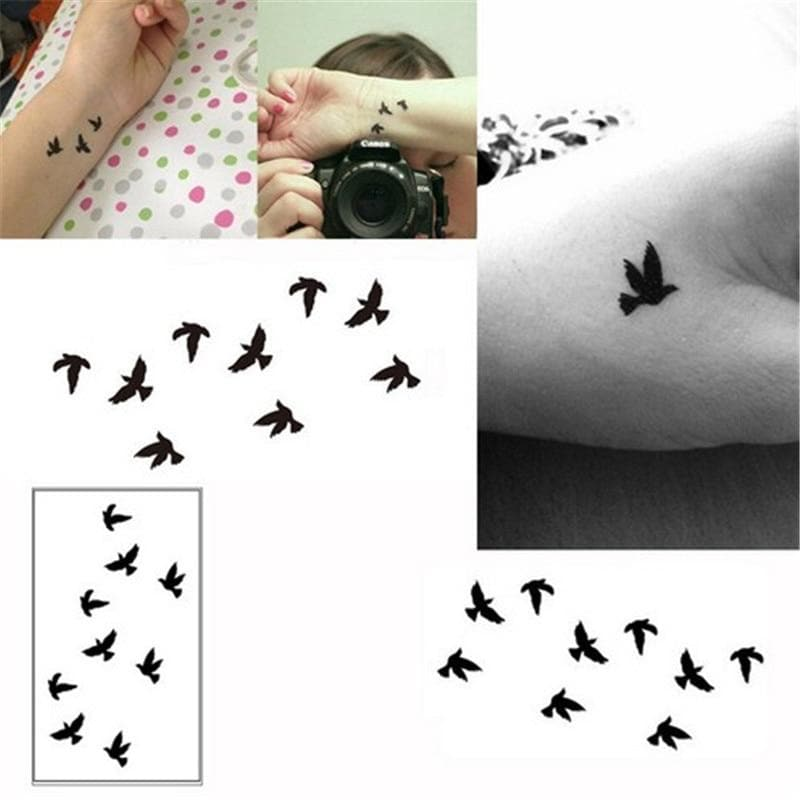 1PC Useful 10cm Wrist Temporary Tattoo