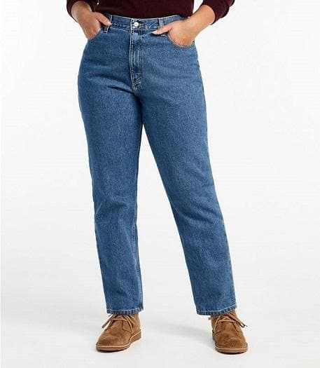 L.L. Bean Women's Favorite Jeans #731-LL