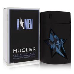 Angel Eau De Toilette Spray Refillable (Rubber) By Thierry Mugler - Your Ego Goods
