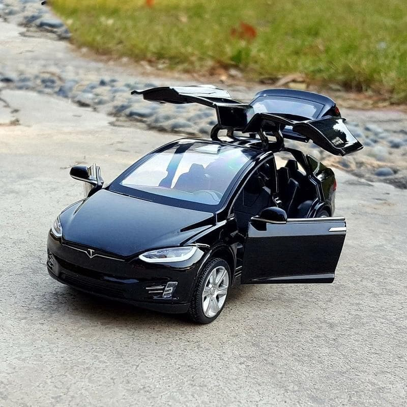 New1:32 Tesla MODEL X  MODEL3 Alloy Car Model Diecasts & Toy Vehicles Toy Cars Kid Toys For Children Gifts Boy Toy