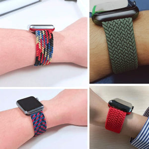 Braided Solo Loop For Apple Watch Band