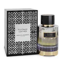 Platinum Leather Eau De Parfum Spray (Unisex) By Carolina Herrera