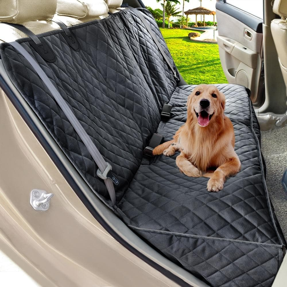 Prodigen Dog Car Seat Cover Waterproof Pet Carrier Backseat Cushion Mat For Dogs