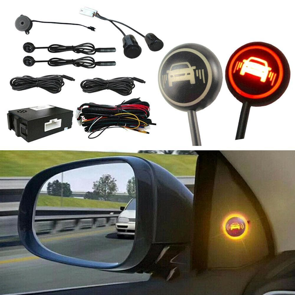 Car Blind Spot Monitoring System