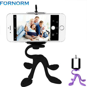 Fornorm Portable Flexible Tripod Mount with Holder Bracket Stand Tripod Kit for Samsung HTC iPhone 6s 7  Sport Camera - Your Ego Goods
