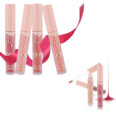 Kkw Beauty Lip Gloss Matte Liquid Lipstick Set Birthday Edition Matt lip Stick Lipgloss Lip Tint Stain Care Makeup Cosmetics - Your Ego Goods