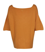 Load image into Gallery viewer, U.MAY Savannah V Neck Jumper Mustard