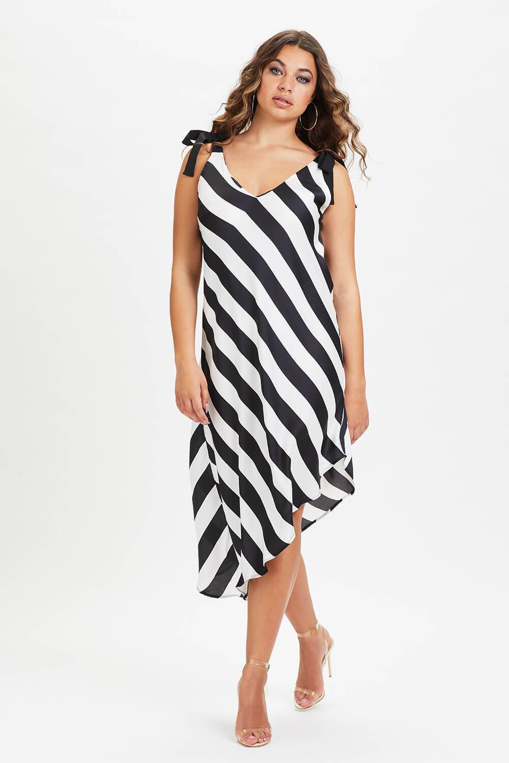U.MAY2019 Billie Midi Monochrome Dress