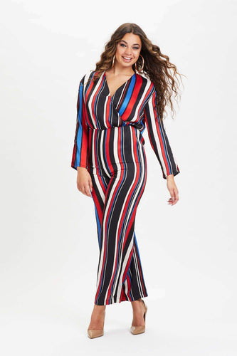 U.MAY2019 Lucy Stripe Jumpsuit