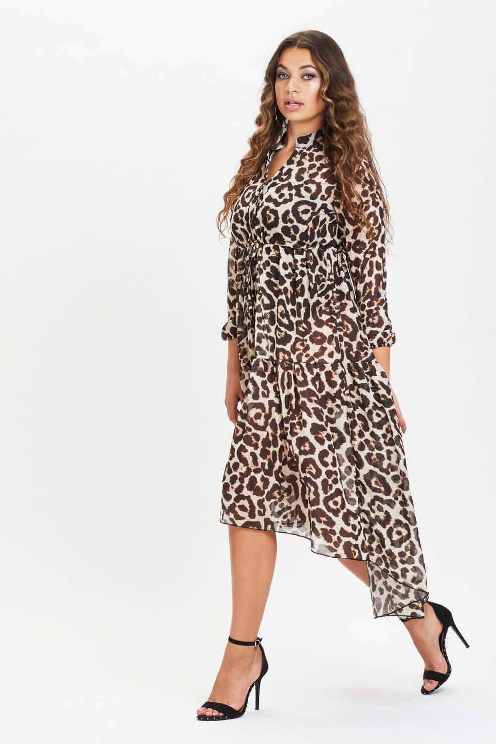 Sherene Maxi Dress Leopard