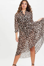Load image into Gallery viewer, U.MAY2019 Sherene Maxi Dress Leopard