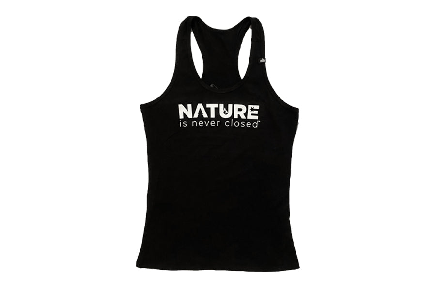 Nature is Never Closed™ Women's Racerback Tank