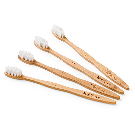 Zero-Waste Wooden toothbrush Recyclable Personal Care Eco Friendly Biodegradable Sustainable Bamboo