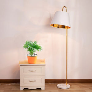 The right lighting can be key to creating a space you love. When you have the perfect lamp in place you'll be amazed at how different your room looks. Our selection is smart, stylish and most importantly, functional!  This lamp has a simplistic yet elegant look. With a marble base and it's high quality hardware, it's durable and long lasting.