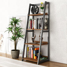 Load image into Gallery viewer, Introduce storage to style with a trendy bookshelf! This piece of furniture makes a bold design statement & evokes an art like feel. The wide shelves offer plenty of space to show off personal photos and decor or even hold your office essentials!