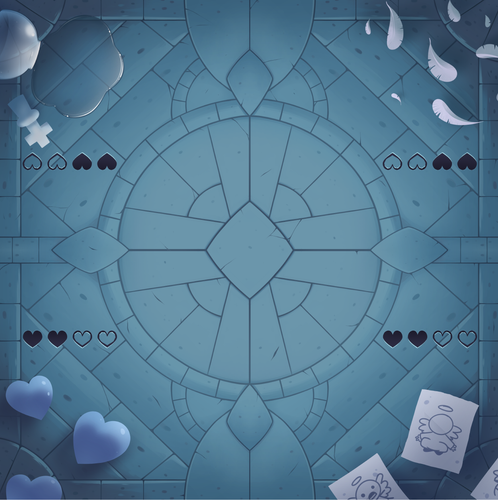 *Exclusive* Four Souls Cathedral Four-Player Mat