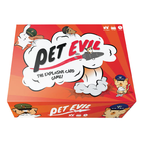 Pet Evil Game - The Explosive Card Game
