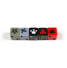 Load image into Gallery viewer, *Exclusive* Binding of Isaac: Unholy Rollers Custom Dice Set