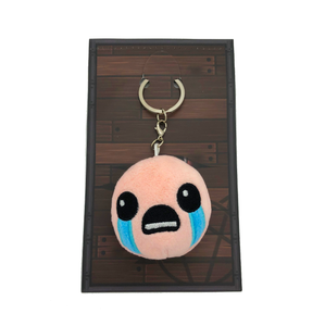 *Exclusive* Binding of Isaac Keychain Plush