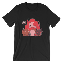 Load image into Gallery viewer, Binding of Isaac Cutesy Unisex T-Shirt (Multiple Colors)