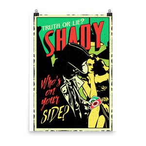 Shady Poster