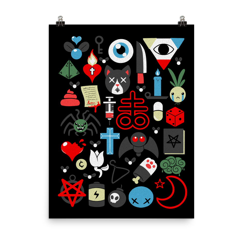 *Exclusive* Binding Of Isaac 1 Year Anniversary Poster