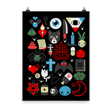 Load image into Gallery viewer, *Exclusive* Binding of Isaac 1 Year Anniversary Poster