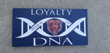 Load image into Gallery viewer, Chicago Bears, Chicago Bears DNA, Chicago Bears decor