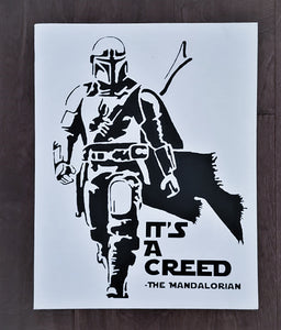 The Mandalorian, It's a Creed